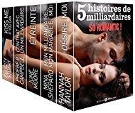 Couverture du livre : 5 histoires de milliardaires. So romantic !