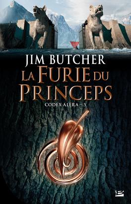 Couverture du livre : Codex Aléra, Tome 5 : La Furie du Princeps