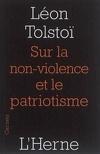 Sur la non-violence et le patriotisme