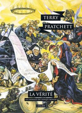 Couverture du livre : Les Annales du Disque-Monde, tome 26 : La Vérité