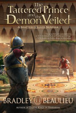 Couverture du livre : Sharakhaï : The Tattered Prince and the Demon Veiled