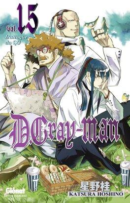 Couverture du livre : D.Gray-Man, Tome 15 : L'Attaque du QG