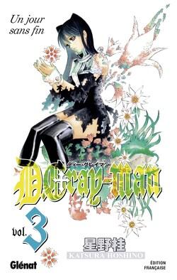 Couverture de D.Gray-Man, Tome 3 : Un jour sans fin