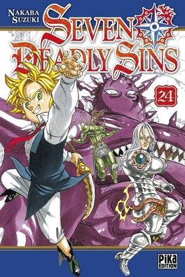 Couverture du livre : Seven Deadly Sins, Tome 24