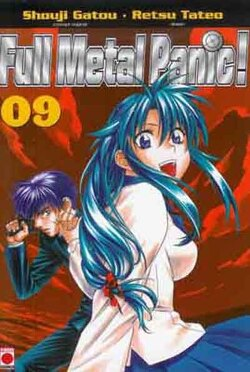 Couverture de Full Metal Panic !, Tome 9