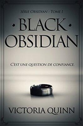 Couverture du livre : Obsidian, Tome 1 : Black Obsidian