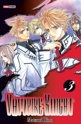 Couverture du livre : Vampire Knight, Tome 3