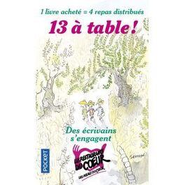 Couverture du livre : 13 à table ! 2018