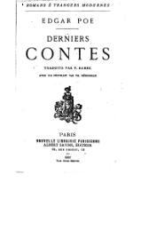 Couverture du livre : Derniers Contes