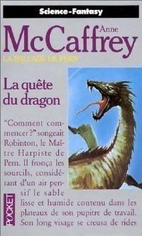 Couverture du livre : La Ballade de Pern, Tome 2 : La Quête du Dragon