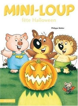 Mini Loup Fete Halloween Livre De Philippe Matter