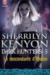 couverture Le Cercle des Immortels, Dark Hunters, Tome 5 : La Descendante d'Apollon
