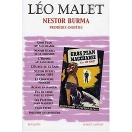 Couverture du livre : Nestor Burma, tome 1 : Premières enquêtes