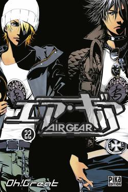 Couverture de Air Gear, Tome 22