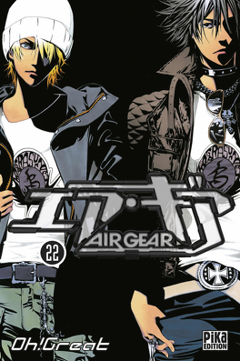 Couverture du livre : Air Gear, Tome 22