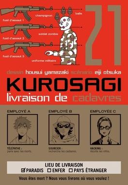 Couverture du livre : Kurosagi - Service de livraison de cadavres, Tome 21