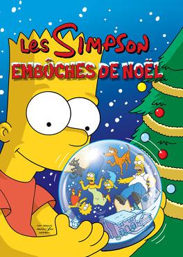 Couverture du livre : Les Simpson – Spécial fêtes, Tome 1 : Embûches de Noël