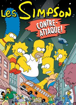Couverture du livre : Les Simpson, Tome 12 : Contre-attaque !