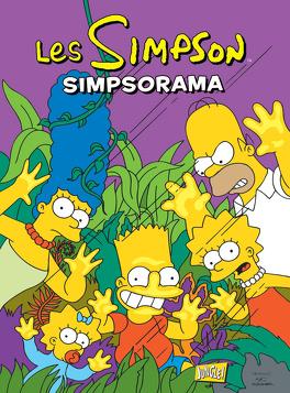 Couverture du livre : Les Simpson, Tome 15 : Simpsorama