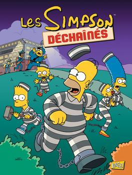 Couverture du livre : Les Simpson, Tome 28 : Déchaînés