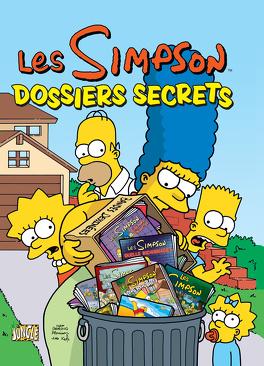 Couverture du livre : Les Simpson, Tome 7 : Dossiers secrets