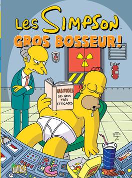 Couverture du livre : Les Simpson, Tome 8 : Gros bosseur !