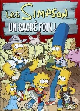 Couverture du livre : Les Simpson, Tome 2 : Un sacré foin !