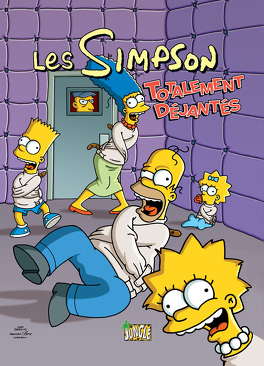Couverture du livre : Les Simpson, Tome 4 : Totalement déjantés