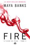 couverture À fleur de peau, Tome 3 : Fire