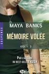 couverture KGI, Tome 3 : Mémoire volée