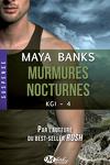 couverture KGI, Tome 4 : Murmures nocturnes