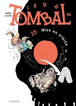 Couverture de Pierre Tombal, Tome 25 : Mise en orbite
