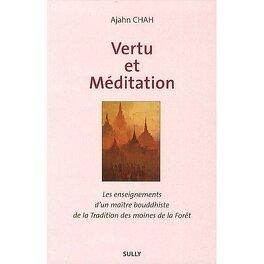 Couverture du livre : vertu et méditation