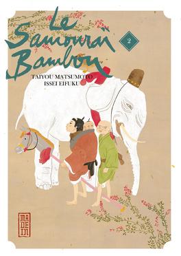 Couverture du livre : Le Samouraï Bambou, Tome 2