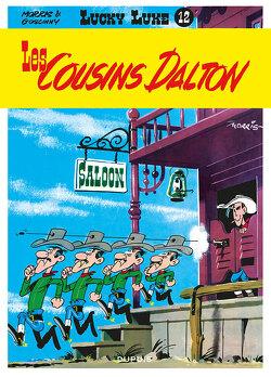 Couverture de Lucky Luke, Tome 12 : Les cousins Dalton