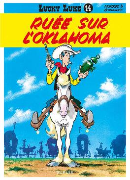 Couverture du livre : Lucky Luke, Tome 14 : Ruée sur l'Oklahoma