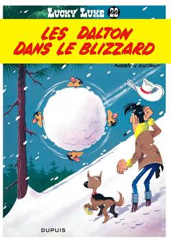 Couverture de Lucky Luke, Tome 22 : Les Dalton dans le blizzard