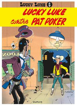 Couverture du livre : Lucky Luke, Tome 5 : Lucky Luke contre Pat Poker