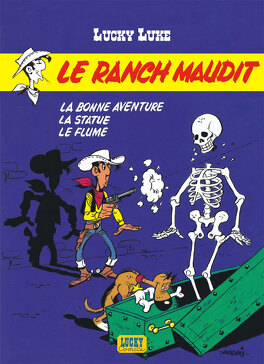 Couverture du livre : Lucky Luke, Tome 56 : Le Ranch maudit