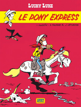 Couverture du livre : Lucky Luke, Tome 59 : Le Pony Express