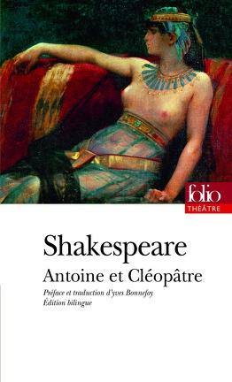 Couverture du livre : Antoine et Cléopâtre